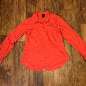WORTHINGTON CORAL LONG SLEEVE BUTTON DOWN SHIRT